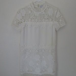 White Mini Dress from Endless Rose